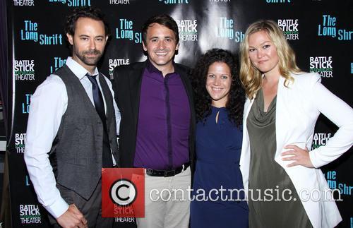 James Wirt, Rian Patrick Durham, Jennifer Delia and Julia Stiles 2