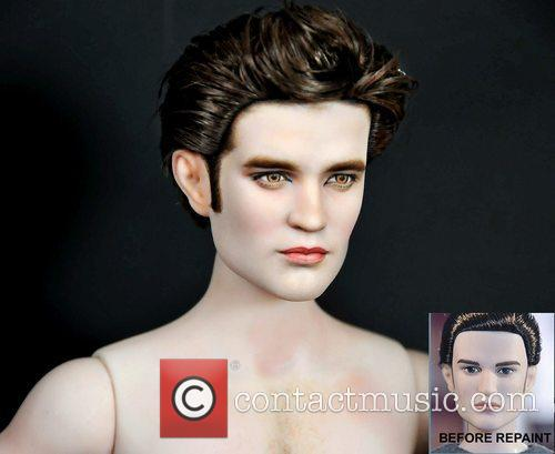 Robert Pattinson and Edward Cullen