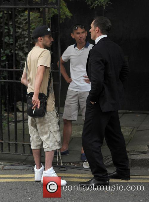 Tom Hardy and Adam Deacon