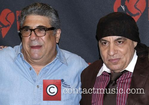 Vincent Pastore, Steven Van Zandt and The Sopranos