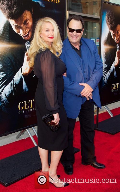 Donna Dixon and Dan Aykroyd