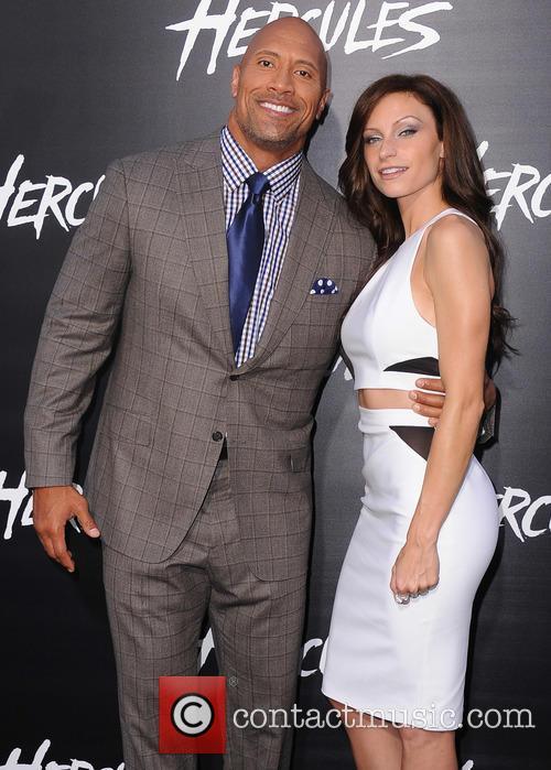 Dwayne Johnson and Lauren Hashian 1