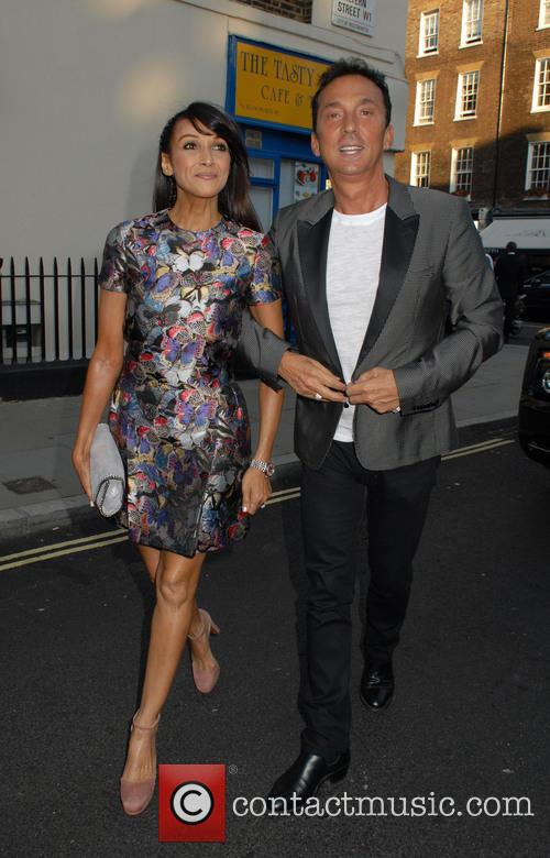 Jackie St Clair and Bruno Tonioli