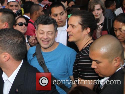 Orlando Bloom, Andy Serkisorlando Bloom and Andy Serkis