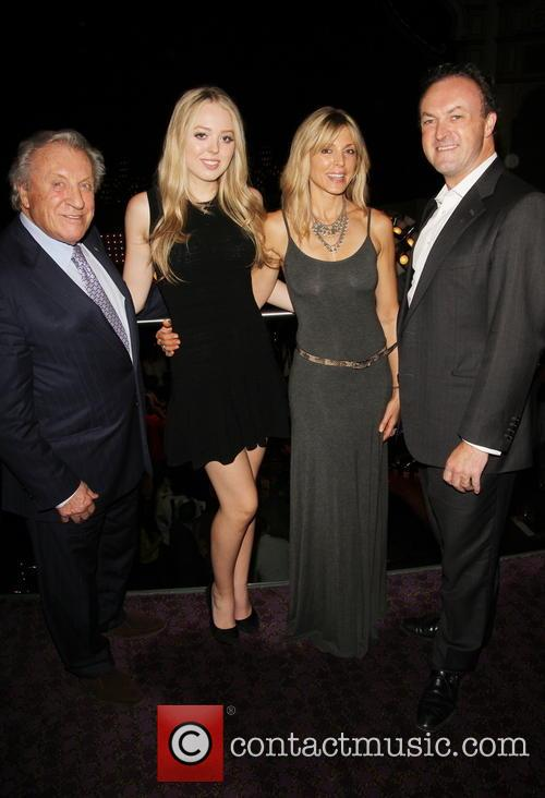 Simon Thomas, Tiffany Trump, Marla Maples and Jimmy Thomas 3