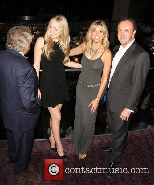 Simon Thomas, Tiffany Trump, Marla Maples and Jimmy Thomas 1