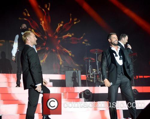 Ronan Keating, Keith Duffy, Mikey Graham, Shane Lynch and Boyzone 2