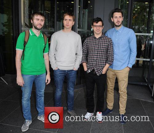James Buckley, Joe Thomas, Simon Bird and Blake Harrison