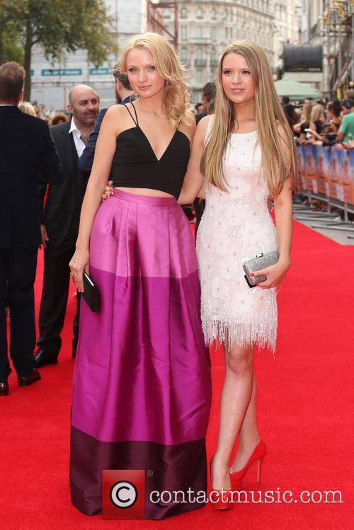 Emily Berrington and Sister