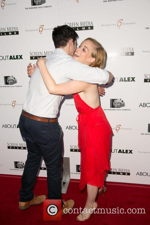Max Greenfield and Jane Levy 2