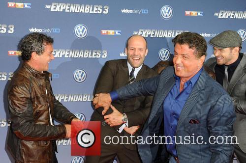 Antonio Banderas, Wesley Snipes, Jason Statham, Sylvester Stallone and Kellan Lutz