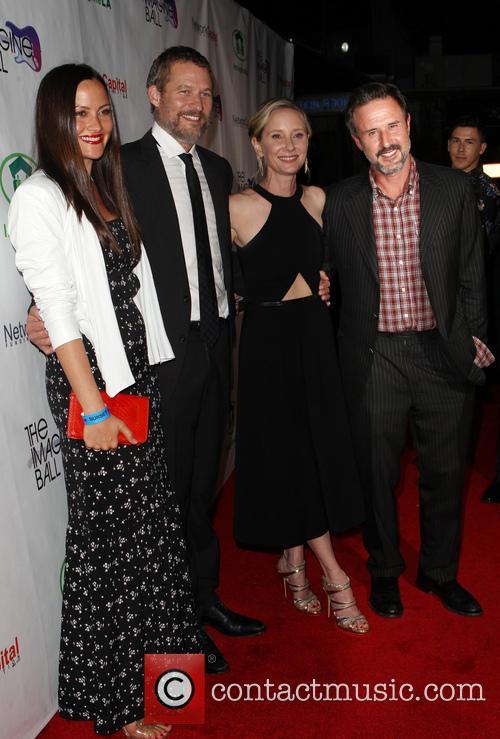 Christina Mclarty, James Tupper, Anne Heche and David Arquette