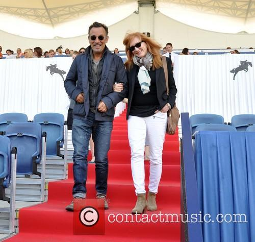 Bruce Springsteen and Patti Scialfa 1