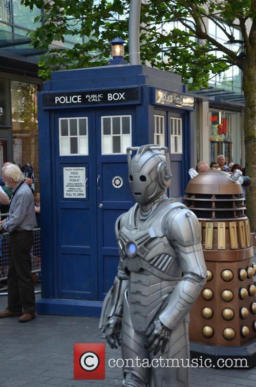 Doctor Who, Cyberman, Dalek and Tardis 10