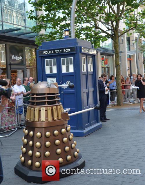 Doctor Who, Dalek and Tardis 4