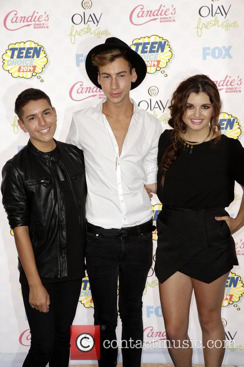 Anthony Quintal, Andrew Lowe and Rebecca Black