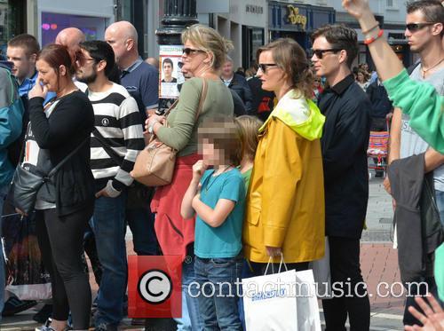 Cillian Murphy, Yvonne Mcguinness, Malachy Murphy and Aran Murphy 5