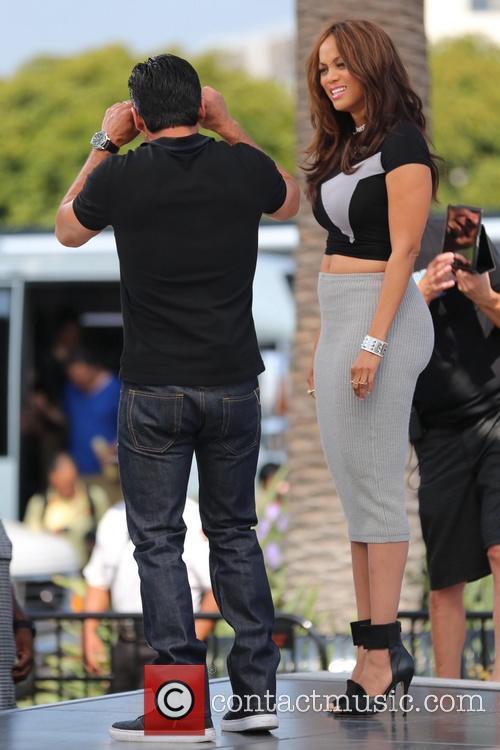 Tyra Banks and Mario Lopez 11