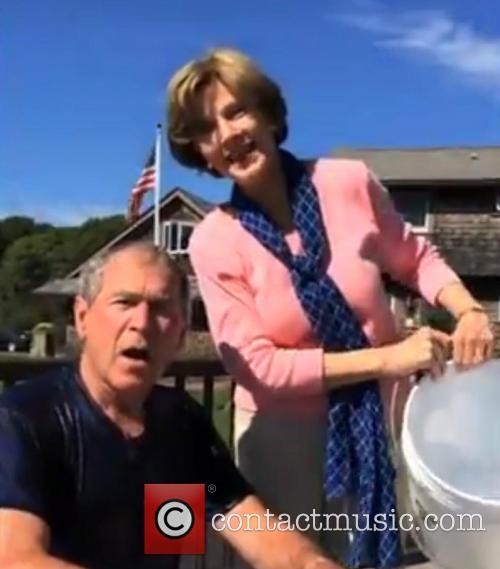 George W. Bush and Laura Bush 4