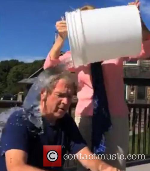 George W. Bush and Laura Bush 9