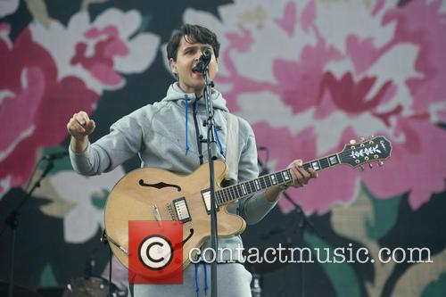Ezra Koenig and Vampire Weekend