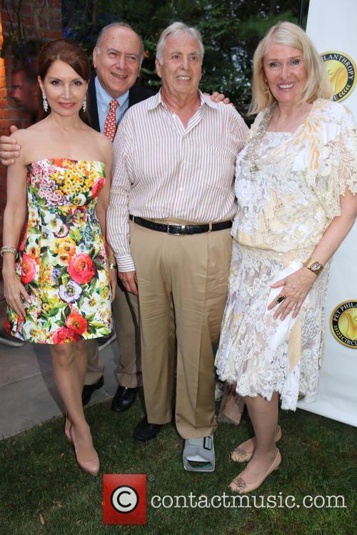 Jewel, Jean Shafiroff and Robert Morris