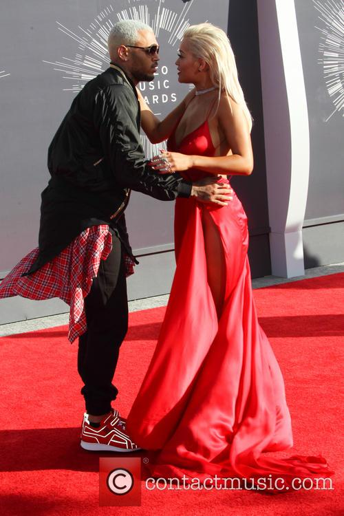 Chris Brown and Rita Ora