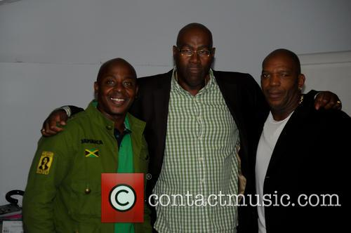 Vas Blackwood, Cass Pennant, Barrington Patterson and Tracy Patterson