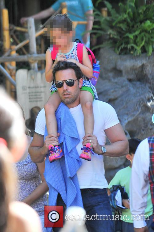 Ben Affleck and Seraphina Affleck 9
