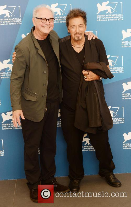 Al Pacino and Barry Levinson