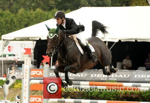 Irish Rider Kevin Babington Riding Shorapur  Won The 2014 Hampton Classic Grand Prix 4