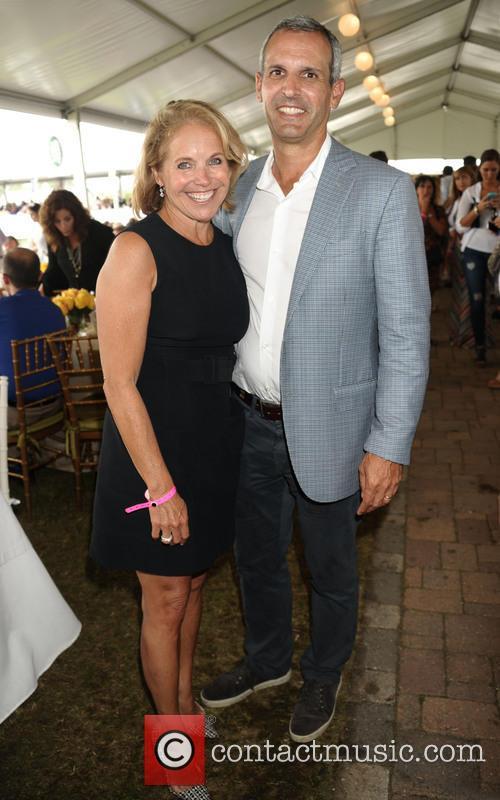 Katie Couric and Husband John Molner