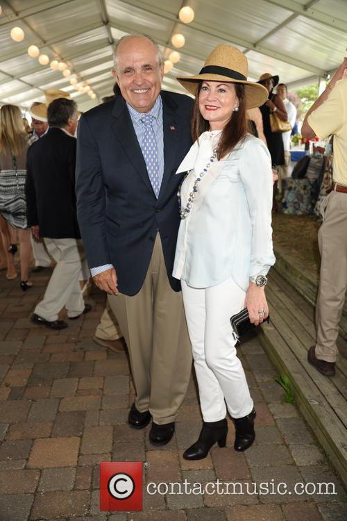 Rudy Giuliani and Judy Giuliani