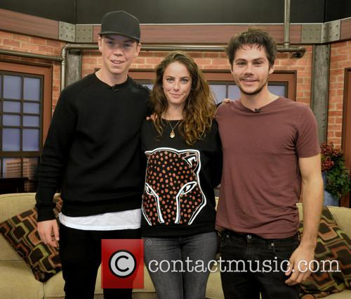 Will Poulter, Kaya Scodelario and Dylan O'brien