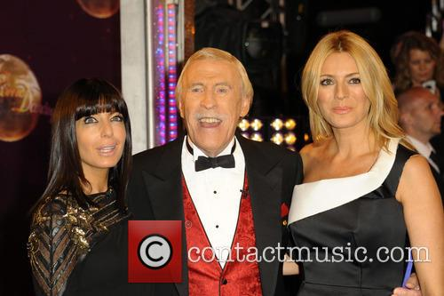 Claudia Winkleman, Bruce Forsyth and Tess Daly