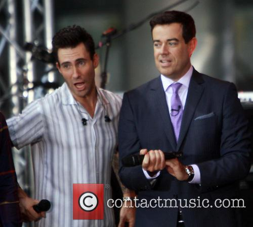 Carson Daly, Adam Levine and Maroon 5 1
