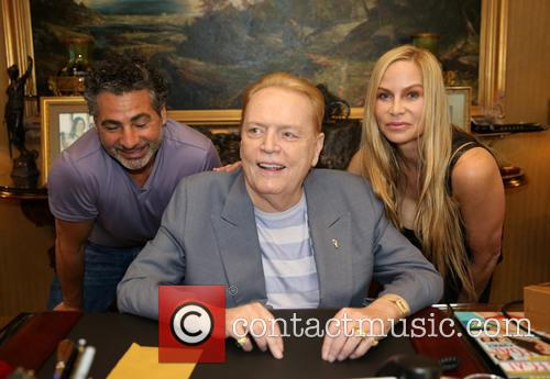Christina Fulton, Larry Flynt and Michael Zinna