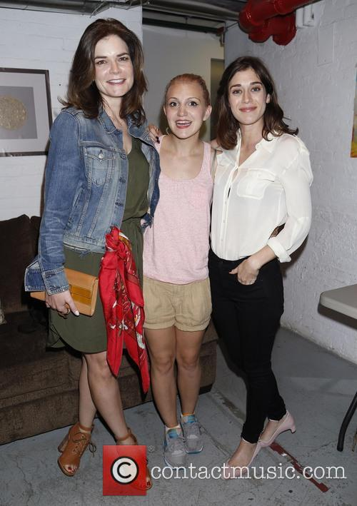 Betsy Brandt, Annaleigh Ashford and Lizzy Caplan 2