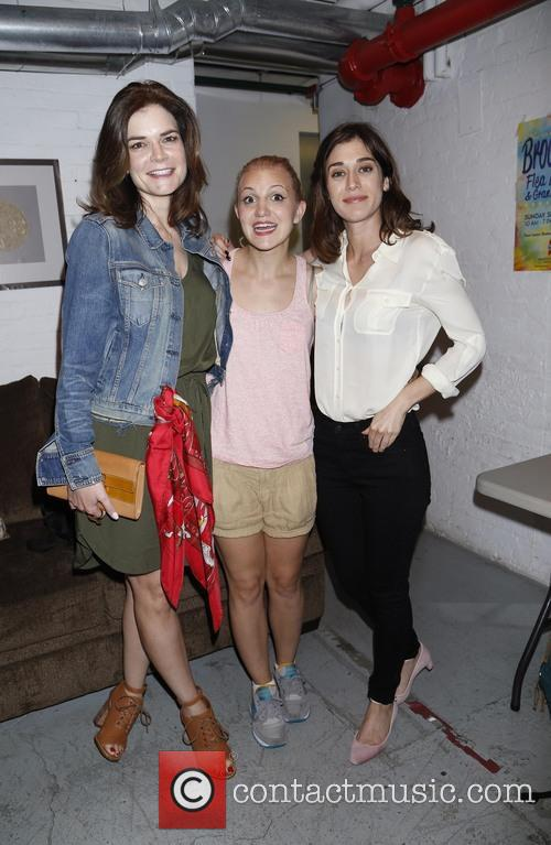 Betsy Brandt, Annaleigh Ashford and Lizzy Caplan 4