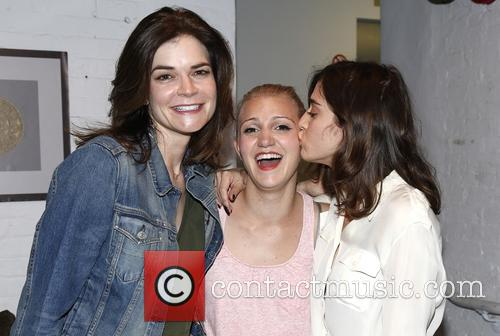 Betsy Brandt, Annaleigh Ashford and Lizzy Caplan 1