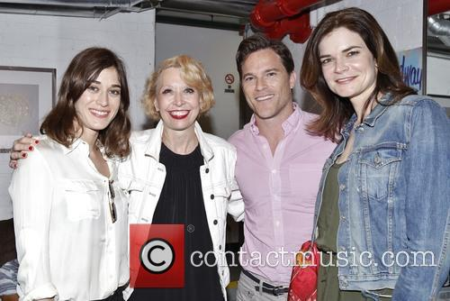 Lizzy Caplan, Julie Halston, Mike Doyle and Betsy Brandt