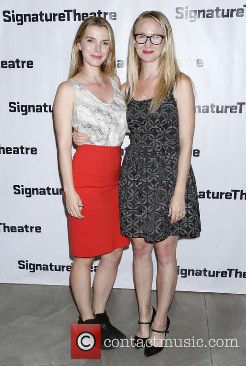 Betty Gilpin and Halley Feiffer