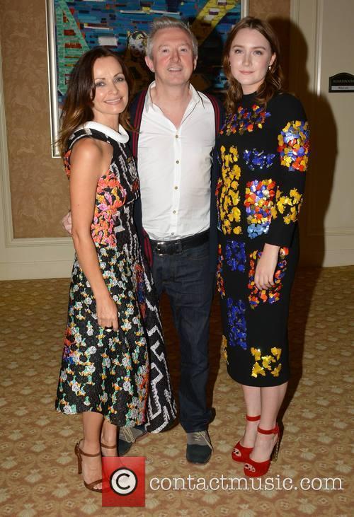 Sharon Corr, Louis Walsh and Saoirse Ronan 2