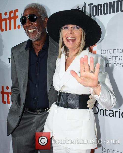 Diane Keaton and Morgan Freeman 2