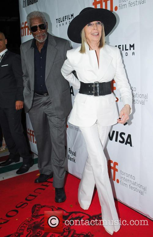 Diane Keaton and Morgan Freeman 5