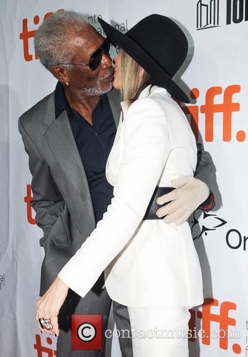 Diane Keaton and Morgan Freeman 6