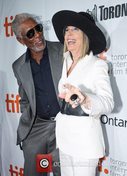 Diane Keaton and Morgan Freeman 9