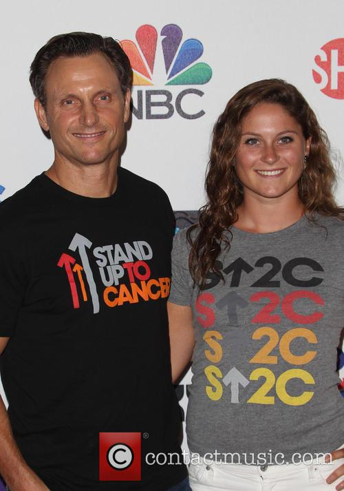 Tony Goldwyn and Tess Frances Goldwyn 1