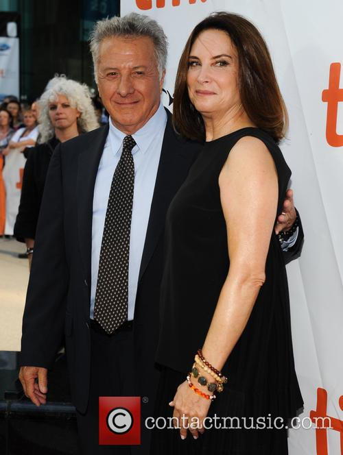 Dustin Hoffman and Lisa Hoffman 1