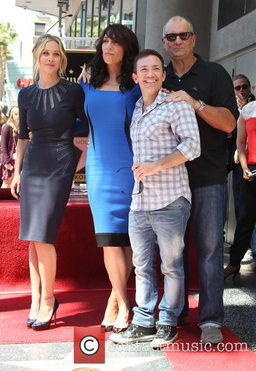 Christina Applegate, Katey Sagal, David Faustino and Ed O'neill 9